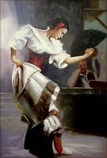 Quality Hand Painted Oil Painting, The Dancer, 24x36in