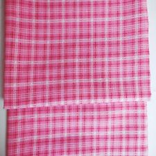 Plaid Unbranded Hearts Craft Fabric Remnants