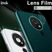 2pcs IMAK Clear Camera Lens Tempered Glass Screen Film For Nokia 7.2 / 6.2 / 5.3