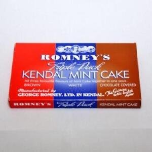 Kendal Mint Cake Romney's Kendal Mintcake Triple Selection Box  227g