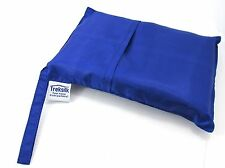 Extra Large TREKSILK BLUE Silk Sleeping Bag Liner Camping Hikking Backpacker
