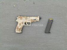 jouet M-16 Electronic M1 jouet fusil 4x Pistolets argent 9 mm Pistolet /& revolver Cap