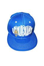URUGUAY BLUE AUF LOGO FIFA SOCCER WORLD CUP HIP HOP HAT CAP .. NEW