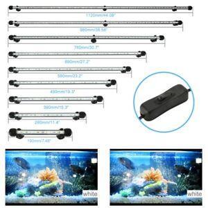 LED Light RGB Submersible Air Bubble(Choice) Aquarium Fish Tank Lamp Deocr
