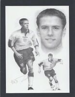 Micheal Owen England Card - Liverpool.