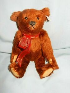 """STEIFF Limited Edition FREDERICK 13"""" #669606 Reddish Fur Jointed"""