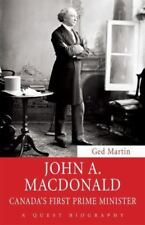 John A. Macdonald: Canada's First Prime Minister (Quest Biography)-ExLibrary