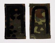 Dienstgradabzeichen auf Klett, gewebt, flecktarn Unteroffizier