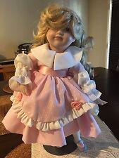 1984 Goldilocks W/Bear Franklin heirloom Porcelain Doll