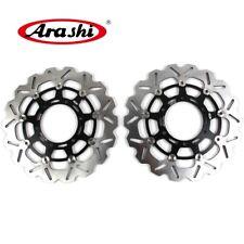 For Suzuki GSXR750 2008-2014 Front Brake Disc Rotors GSX-R 750 2013 2012 2011 10