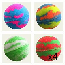 BULK BUY 4X BEST SELLING Bubble Bath Bombs BUY MORE SAVE MORE!!  Bath Treat 160g