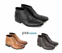 Mens Ankle Boots Casual Fashion Chelsea Designer Shoes Smart Formal Dress Style