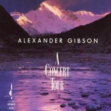 Alexander Gibson - A Concert Tour (NEW CD)