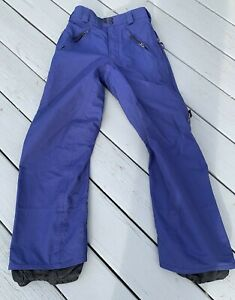 Burton Tri Lite Women's Snowboard Pants  Thigh Vents  XS x-small Blue