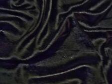 STRETCH VELVET-BLACK-DRESS/CRAFT FABRIC-FREE P&P(UK ONLY)