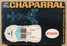 VINTAGE COX JIM HALL CHAPARRAL KIT (1/24) MAGNESIUM CHASSIS >COMPLETE, UNBUILT<