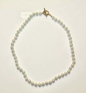 """CHARTER CLUB FAUX IMITATION GLASS PEARL 20"""" STRAND NECKLACE NWT"""