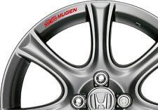 """8 NO. Car Styling """"MUGEN honda in lega Adesivo Decalcomania-Per le ruote tipo RS CIVIC"""