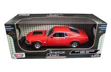 Motor Max 1:18 American Classics 1970 Ford Mustang Boss 429 Diecast Car 73154 RD