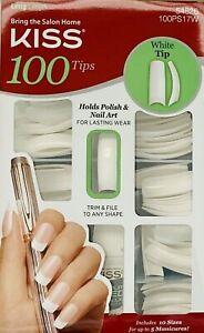 NEW! KISS 100 Full Cover Nails/Tips Kit(Overlap/Square/Oval/Stiletto/Coffin)