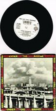 """RARE UK PROMO release 1991 RED HOT CHILI PEPPERS Under The Bridge 7"""" 45 VG"""