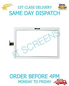 New Lenovo TAB 3 TB-X103F Tablet Touch Screen Digitizer Front Glass Lens White