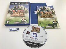 Worms Forts État De Siège - Sony PlayStation PS2 - PAL FR - Avec Notice