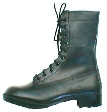 BLACK G.P. BOOTS - NEW PAIR EX-AUSTRALIAN ARMY SURPLUS STOCK size 3