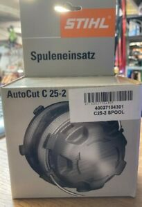 STIHL C25-2 GENUINE BOXED STRIMMER SPOOL & LINE (NEW OLD STOCK)