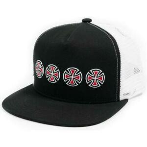 CROSS SEQUENT SNAP BACK Trucker Baseball Cap Hat by Independent Skateboards
