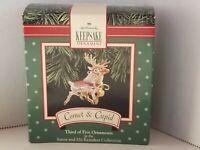 Hallmark Keepsake Ornament Comet & Cupid Reindeer