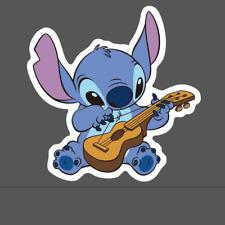 Stitch Sticker - Stitch Playing Guitar Decal - Pegatina Lilo and Stitch Stickers