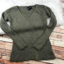 NEW Brandy Melville Sweater Olive Green Knit Womens One Size