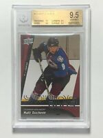 2009-10 Matt Duchene Avs UD Young Guns #203 Rookie RC Card BGS 9.5 GEM MINT