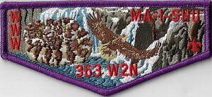 OA Ma I Shu Lodge 363 W2N  Flap PUR Bdr. Snake River Area, Idaho [MX-13790]