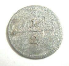 1/2 Kreuzer 1758 Württemberg Karl Eugen 1744-1793