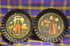 Pair of TOLE TWINS Yorkraft, Inc.York,Pa.Kissin'Wears Out&Shoofly Black Pictures