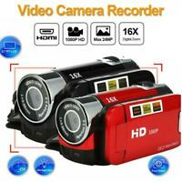"Full HD 1080P 2.7"" LCD TFT Touchsn Digital Video Camera Camcorder DV-16X Zo Top"