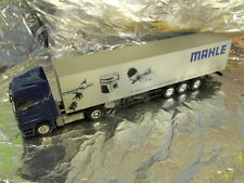 ** Herpa 268837 Mercedes Benz Actros L 02 Box Semitrailer MAHLE 1:87 HO Scale