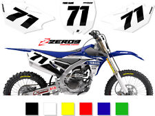 YAMAHA MOTOCROSS BACKGROUNDS NUMBER BOARD GRAPHICS YZ YZF WR 125 - 450 COMP2