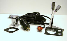 Engine Heater Power Cord with Dual Integrated Indicator Light Kit