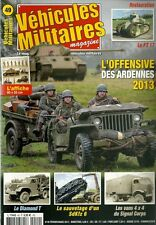 VEHICULES MILITAIRES N° 49 / L'OFFENSIVE DES ARDENNES 2013 - LE DIMAND T
