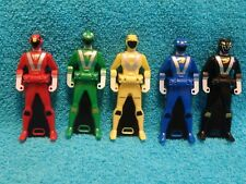 Power Rangers RPM Rangers set of 5 Keys   3 1/4""