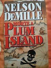ROMANZO THRILLER: MORTE A PLUM ISLAND di NELSON DEMILLE - EUROCLUB