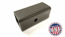 "USA MADE 2"" to 2.5"" Ball Mount Receiver Hitch Adapter Sleeve Truck Trailer"