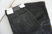 MAC Melanie Damen Jeans straight stretch Hose Gr.34 W24 L32 cord schwarz NEU