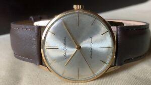 Vintage SEIKO Hand-Winding Watch/ Seiko Goldfeather 25J 14K Gold Filled 1960