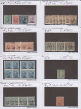 A1908: Italy Offices and Colonies Stamps; CV $3672