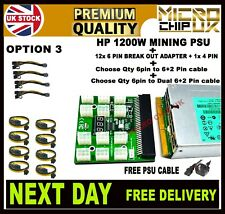 More details for hp psu 1200w hot plug dps-1200fb a psu with break out board crypto mining