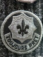 Army ISAF ACU OCP Abzeichen Klett Patch 2 Armored Cavalry Regiment